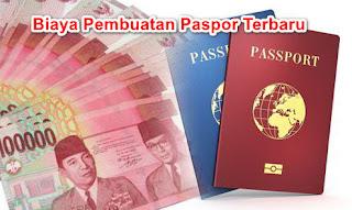 Daftar Lengkap Biaya Pembuatan Paspor Terbaru 2018