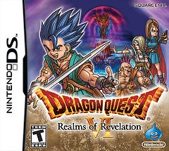 rom, nds, game, dragon quest VI