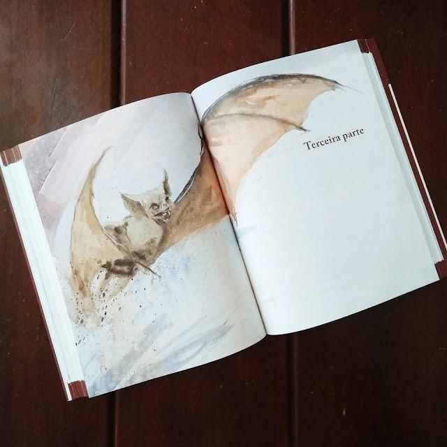livro dracula tres partes