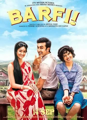 Barfi (2012) Movie Poster