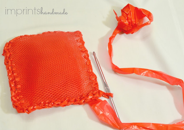 plarn crochet ideas plastic mesh bag scrubber scrubbies