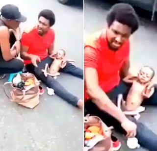 I was treated unjustly by policemen - Father of sick baby cries out