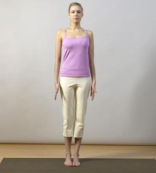 from the ground up tadasana  spoiled yogi