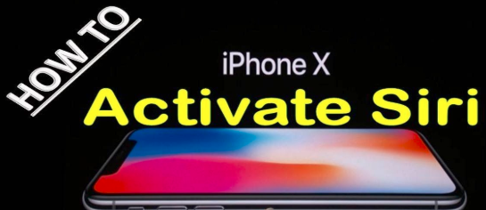 how to use siri on iphone x