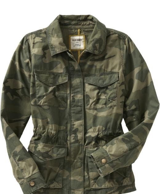Old Navy Sales This Weekend: Miss B And Hustle: Practically Stolen :: Camo Jacket