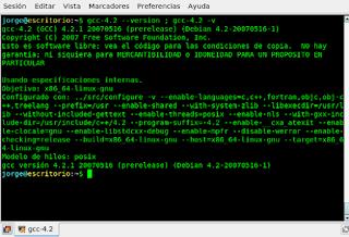 Compilar, diccionario GNU/Linux
