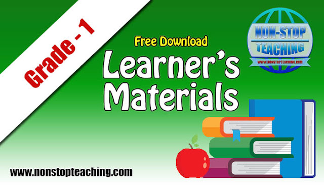 Grade 1 Learner's Materials