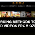 How to Download Videos From Ozee.com -TV Shows & Movie Website