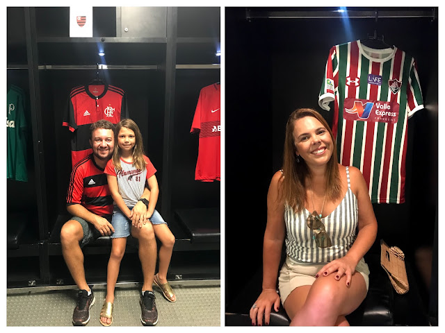 Tour Maracanã - Família Fla x Flu no Vestiário