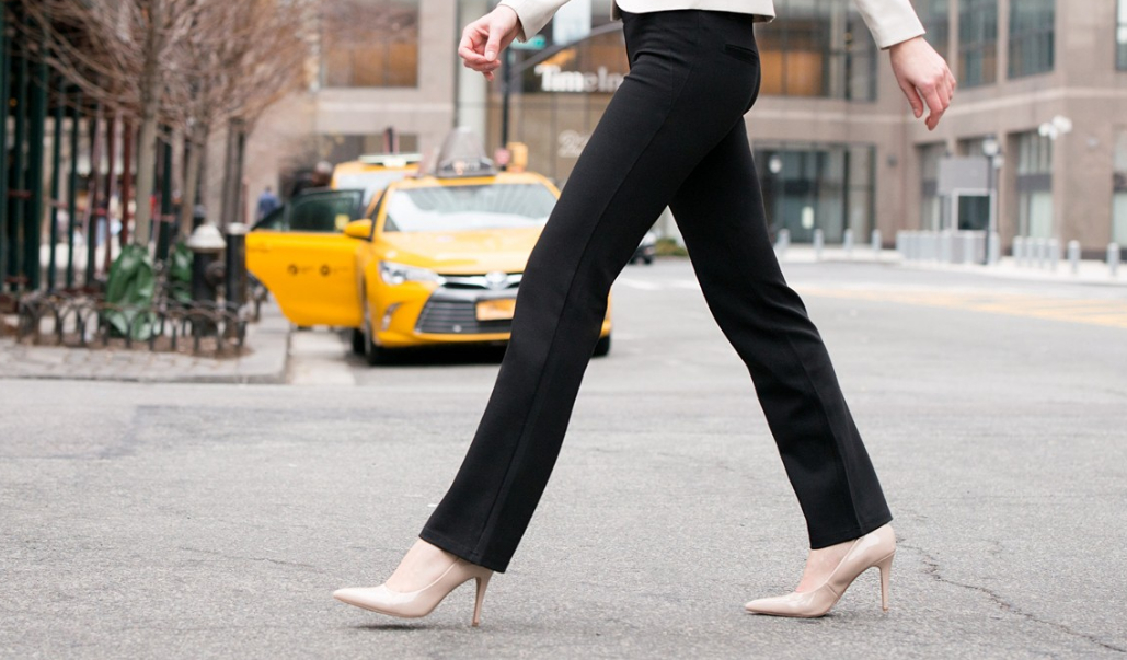 4898bc320f9f7 Did I get your attention when I mentioned Dress Pant Yoga Pants? Well this  surely got my attention. Yoga pants are my favorite lounging pants, ...