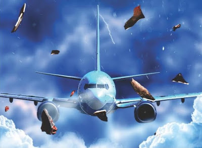 pesawat mengalami keadaan turbulensi