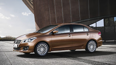 New Maruti Suzuki Ciaz 2018 Facelift coffie color