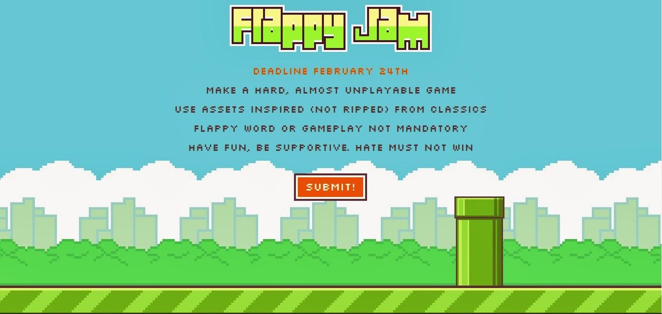 Programa Videojuegos: Flappy Jam