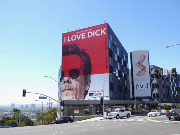 I Love Dick series launch billboard Sunset Strip
