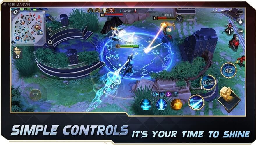 Gameplay MARVEL Super War