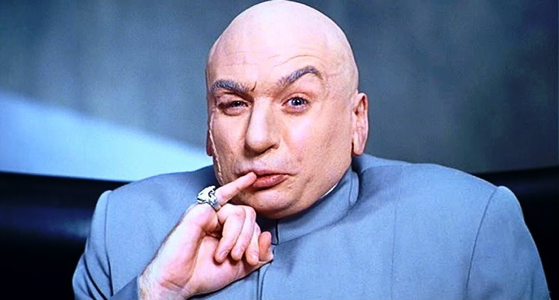 Dr. Evil, de Austin Powers