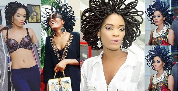 """Video: """"My hair is worth N40million and I won't be apologetic about it"""" – Chika Lann"""