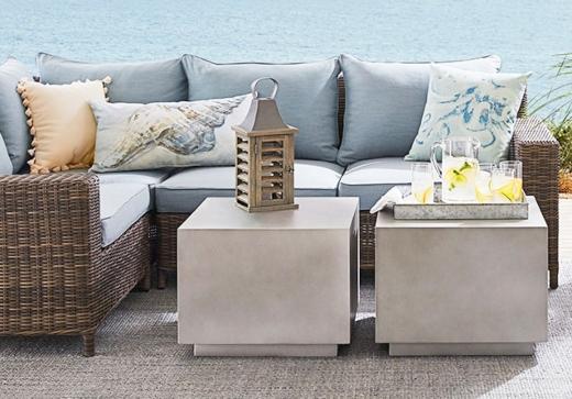 outdoor lounge furniture for coastal