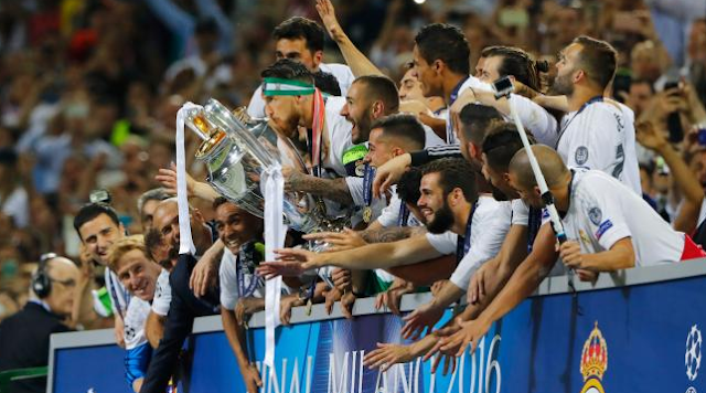 Sosial Media Ikut Merayakan Undecima Real Madrid