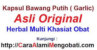Manfaat khasiat habba kapsul garlic oil/bawang putih untuk kesehatan