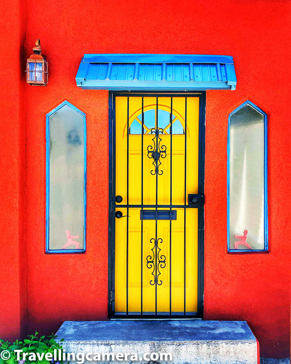 While walking around Albuquerque Old Town I came across some of the most beautiful doors and windows I have ever seen. I loved clicking these photographs with my phone camera. That reminds me that I should flaunt that all photographs shared in post are clicked with phone camera.