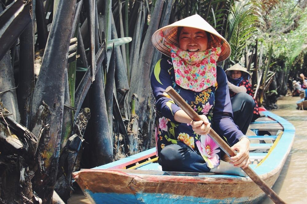 Mekong Delta: Einheimische + Honigfarm Teil 1