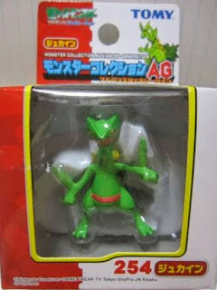 Sceptile figure Tomy Monster Collection AG series