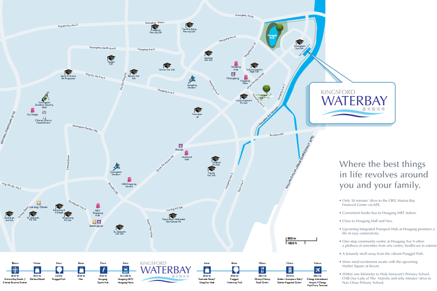 kingsford waterbay location maps