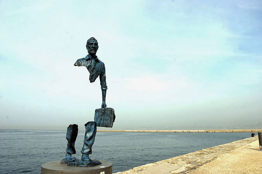 42 Of The Most Beautiful Sculptures In The World - Les Voyageurs, Marseilles, France