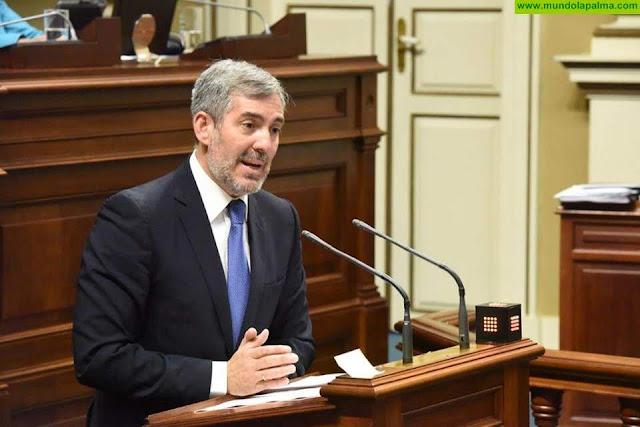 Clavijo defiende el derecho de Canarias a contar con urgencia con sus recursos para afrontar la crisis económica