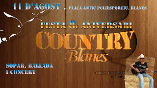 Aniversario Country Blanes