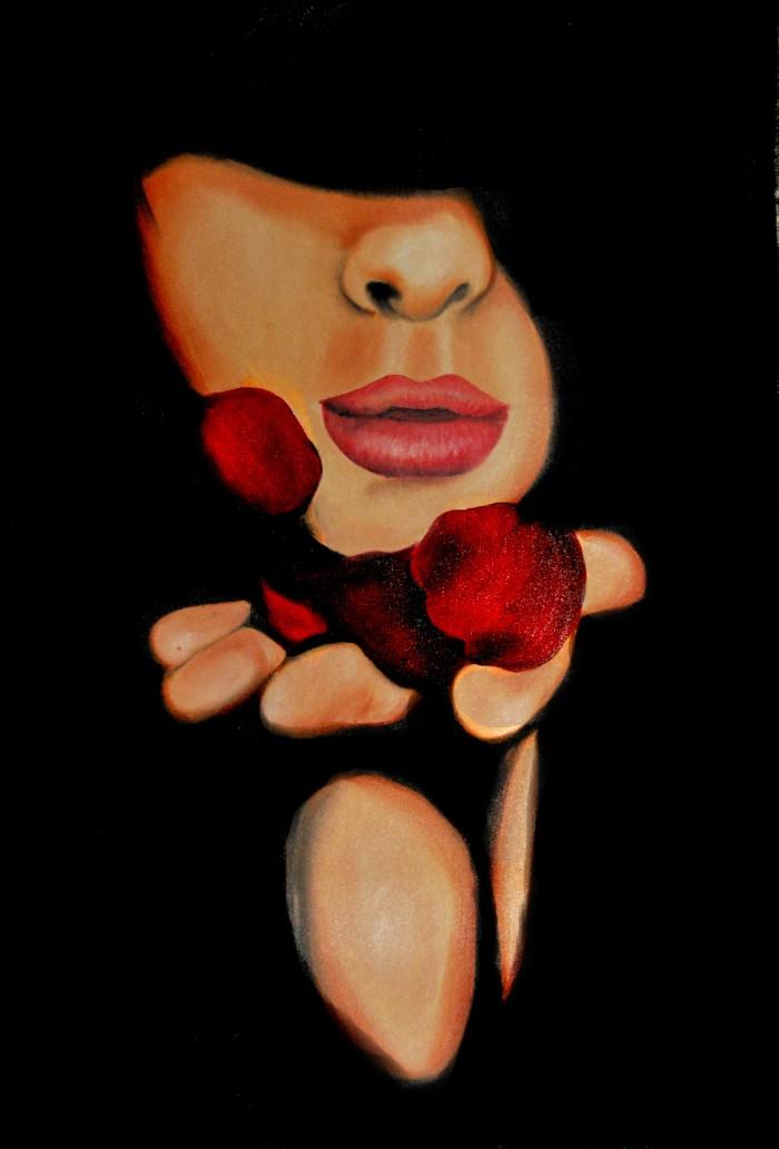 Молодой итальянский художник. Tania Triolo