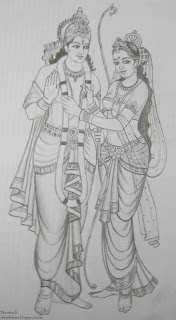 rama and sita by nimisha k