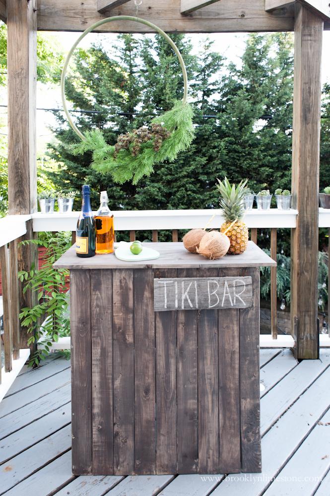 Diy Tiki Bar Brooklyn Limestone