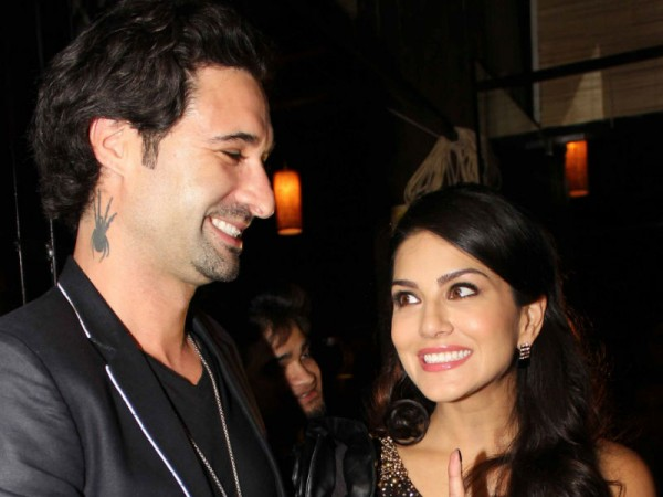 Sunny Leone shares a passionate lip-lock with hubby Daniel Weber in public