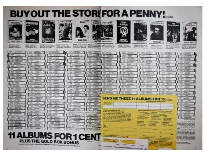 History's Dumpster: Record Clubs
