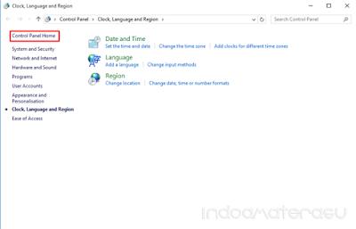 Cara Mencari Control Panel Pada Windows 10