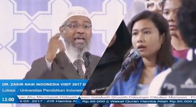 Jawaban Zakir Naik Untuk Ahoker: Perintah Memilih Pemimpin Muslim Ditujukan Khusus Bagi Muslim Yang Percaya Al-Quran