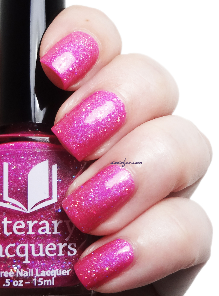xoxoJen's swatch of Literary Lacquers Vurt-U-Want