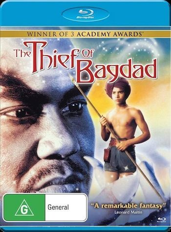 The Thief Of Bagdad 1940 Dual Audio 480p BluRay 300mb
