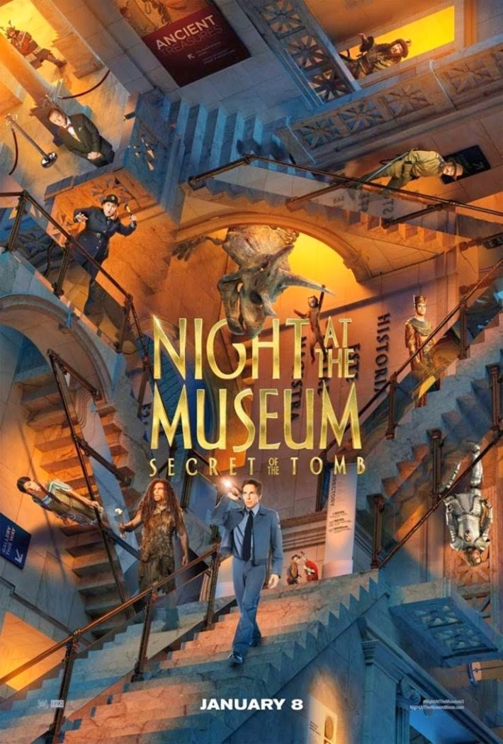 Poster 2: Night at the Museum Secret of the Tomb
