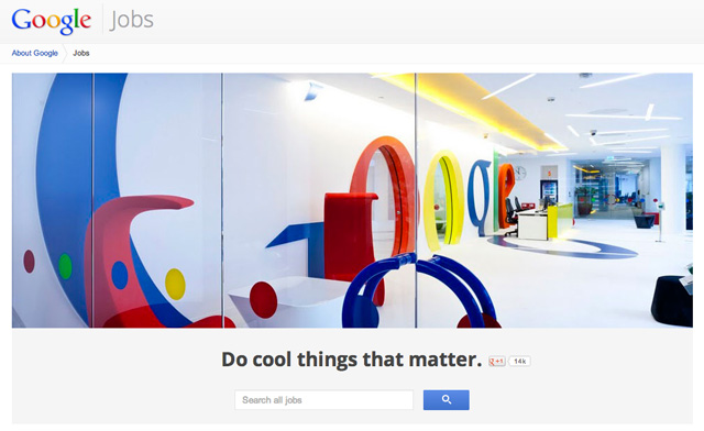 Kini Cari Lowongan Kerja Lebih Mudah Lewat Google Jobs