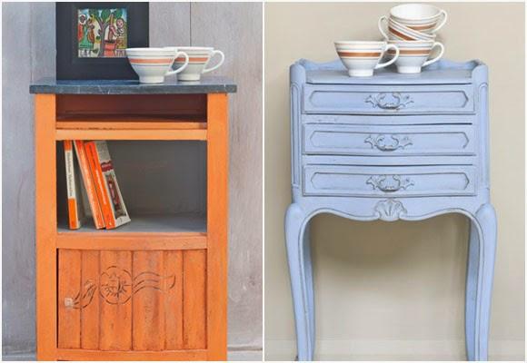 Marzua pintura de tiza muebles pintados sin lijar ni for Pintura para muebles