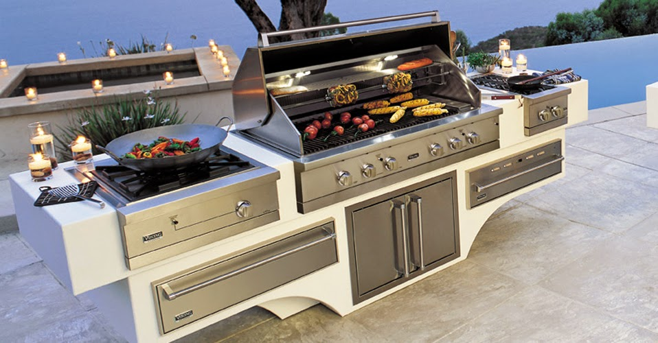 Modern Outdoor Grill