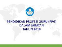 Buku Pedoman PPG Dalam Jabatan tahun 2018