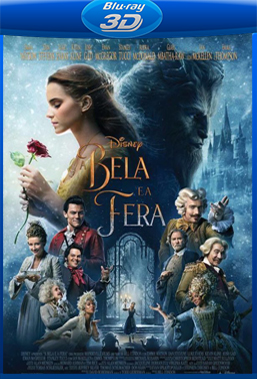 A Bela e a Fera (2017) BluRay Rip 1080p Torrent Dublado 3D HSBS