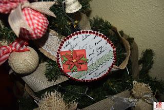 cd reciclados en adornos navideños