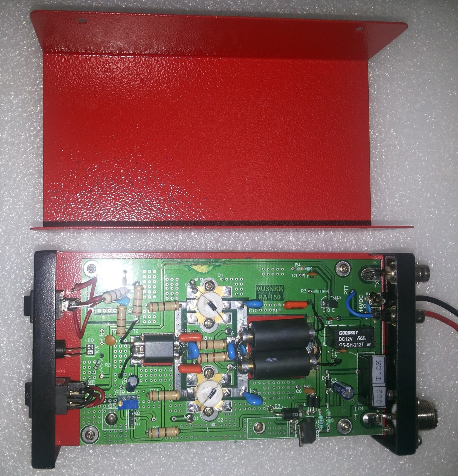 Home Brew Corner: PA150 HF LINEAR 200W Amplifier