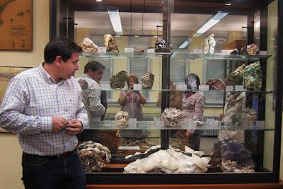 Museo de geología de la Facultad de Geológicas de Oviedo