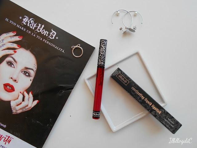 Kat Von D tinte labbra